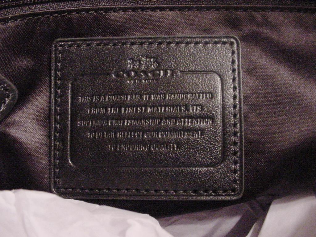 coach bag serial number verification
