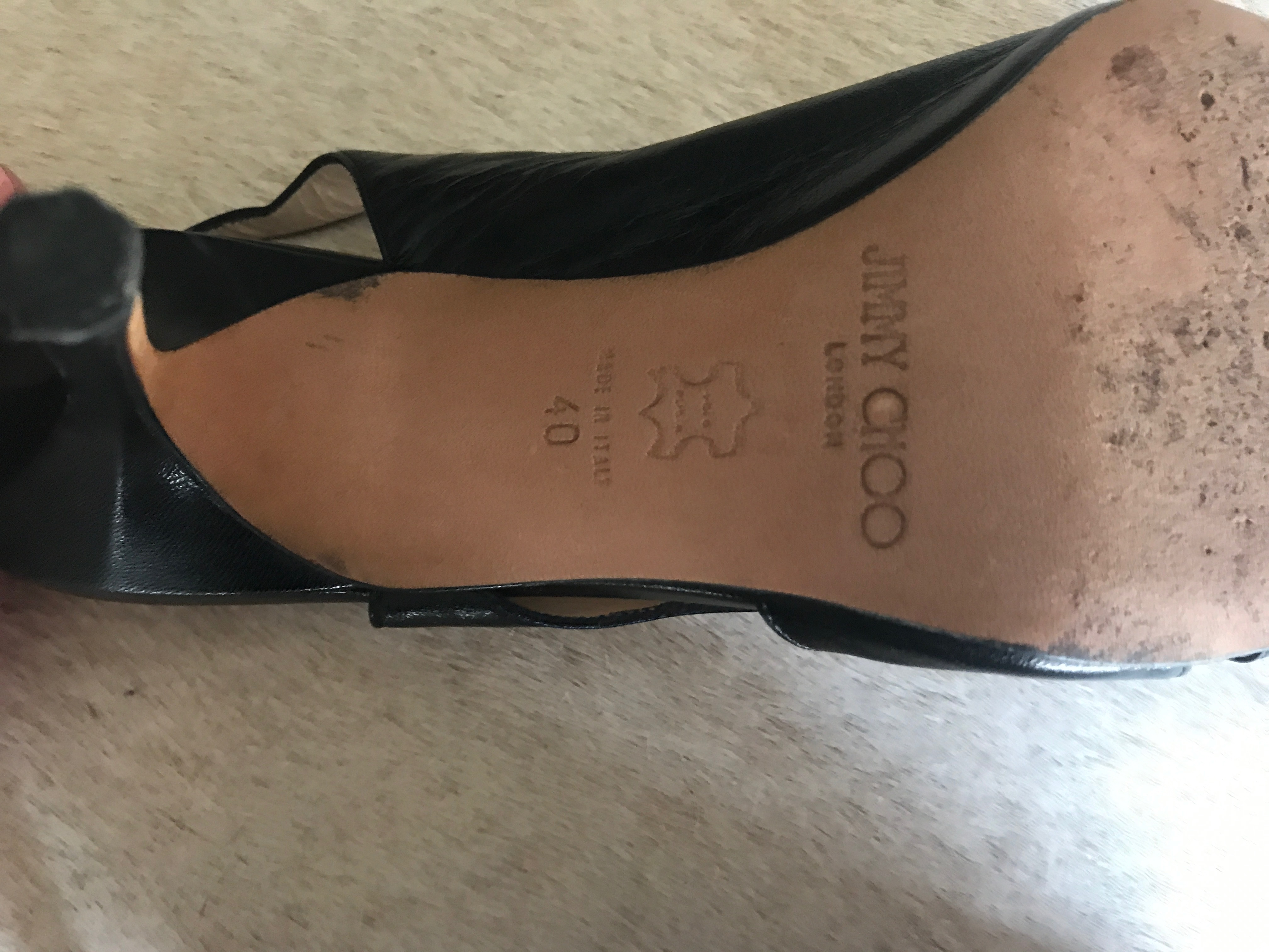 Jimmy Choo shoes real or fake? - The