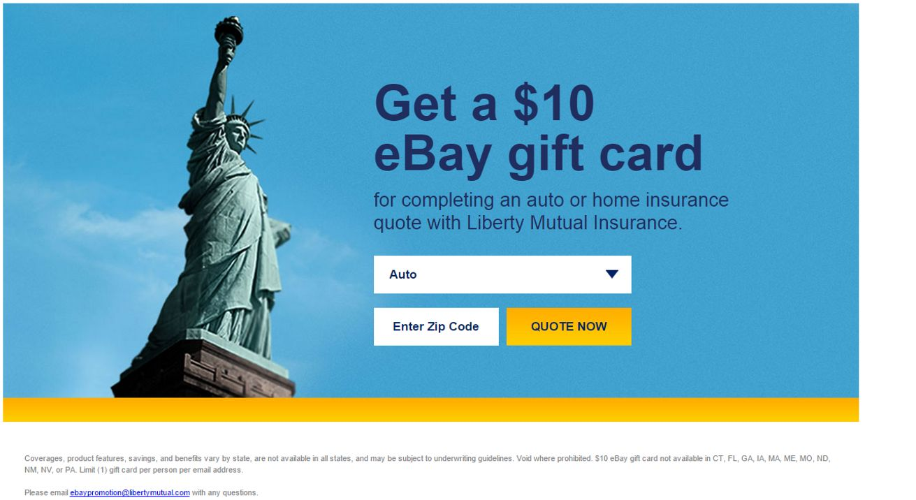 Liberty Mutual Auto Insurance Quote Unique Liberty Mutual  Ebay Gift Card Quote Scam  The Ebay Community