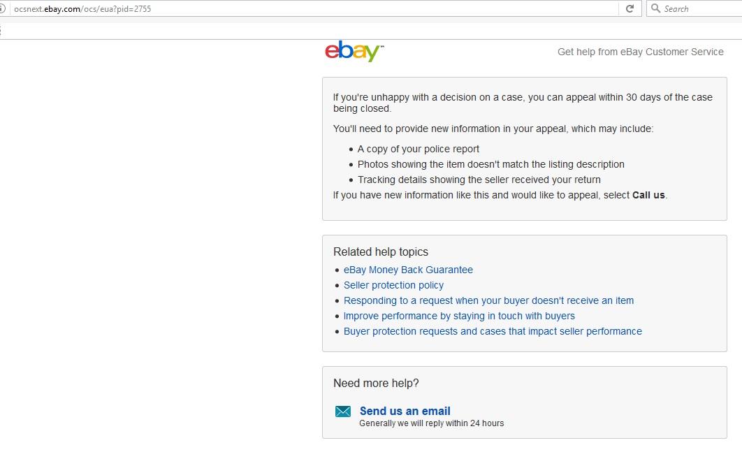 Ebay is a criminal website robbing customers  Ebay    - The