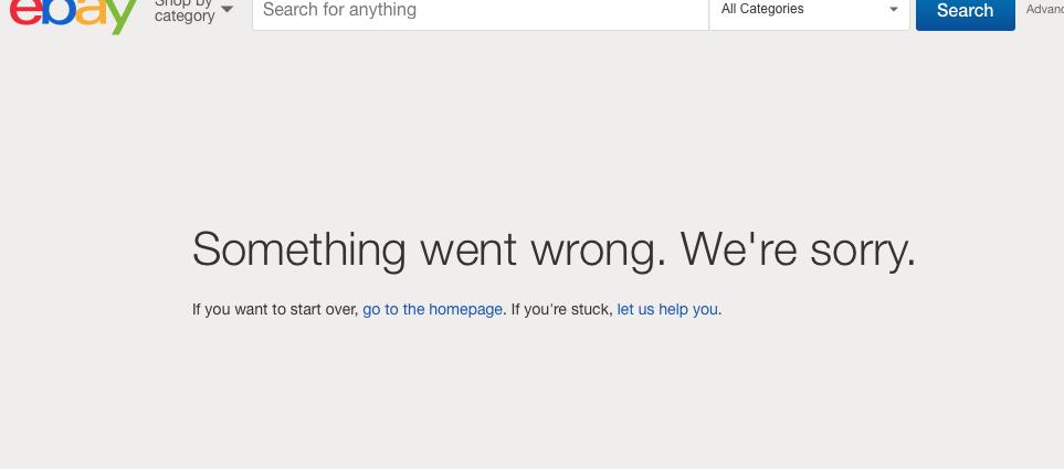 Error listng - The eBay Community