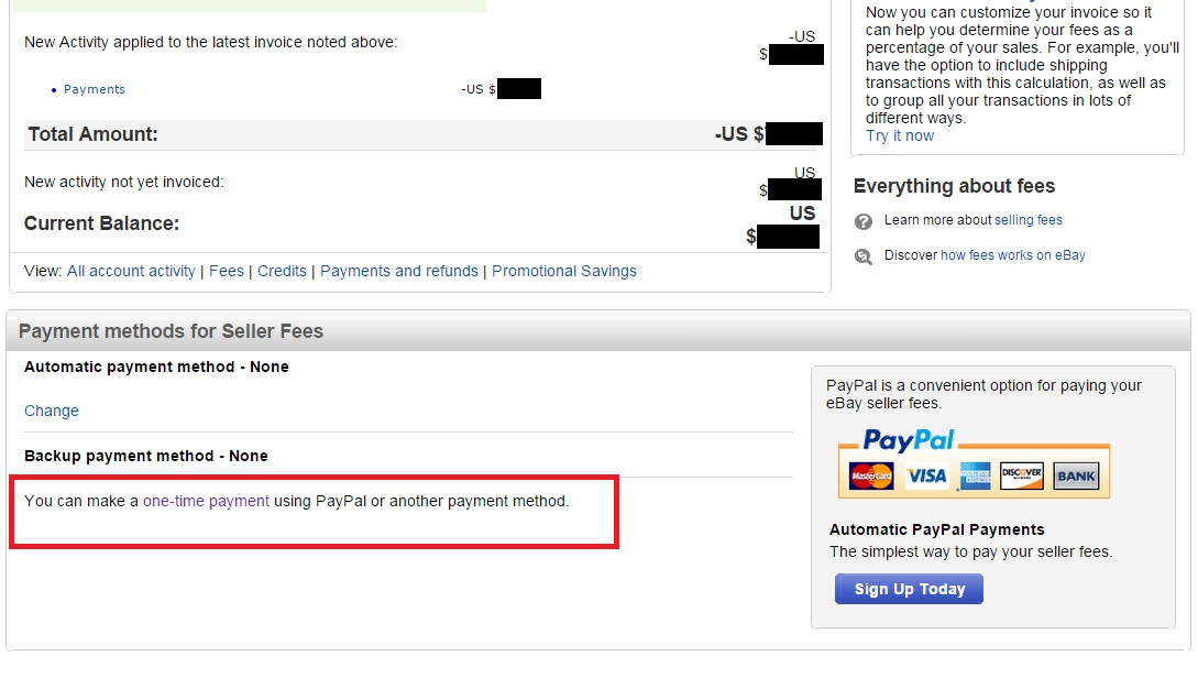 Ebay Forcing Me To Go To Automatic Pay On Seller The EBay - Ebay invoice payment