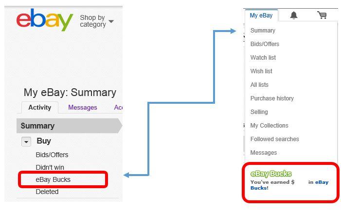 Why Cant I See My Ebay Bucks Balance The Ebay Community