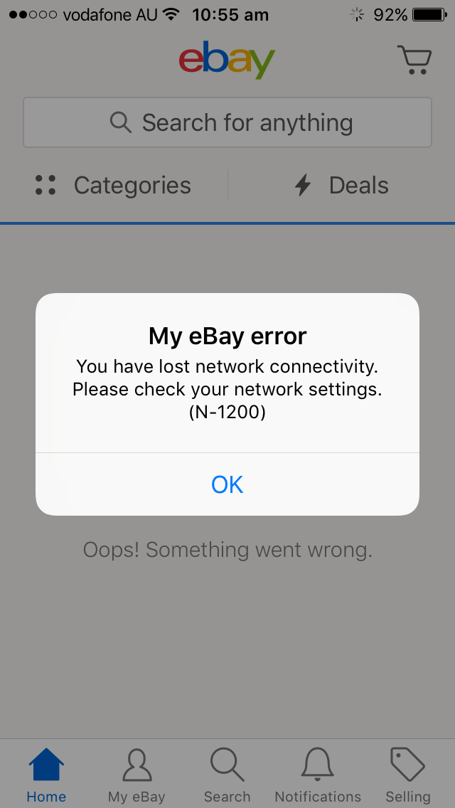 Ebay App Is Not Working In Ipad Or Iphone The Ebay Community
