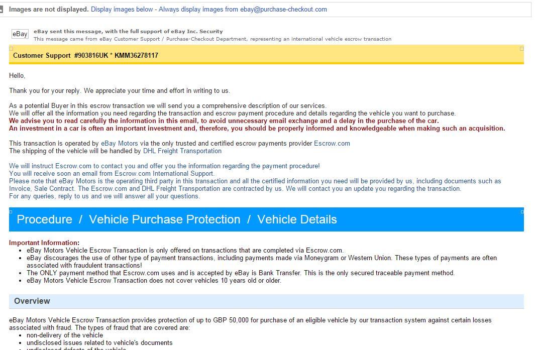 Checking on ebay motors geniunity - The eBay Community