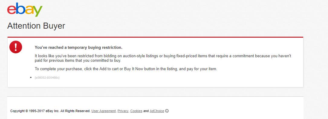 Bidding Problems The Ebay Community