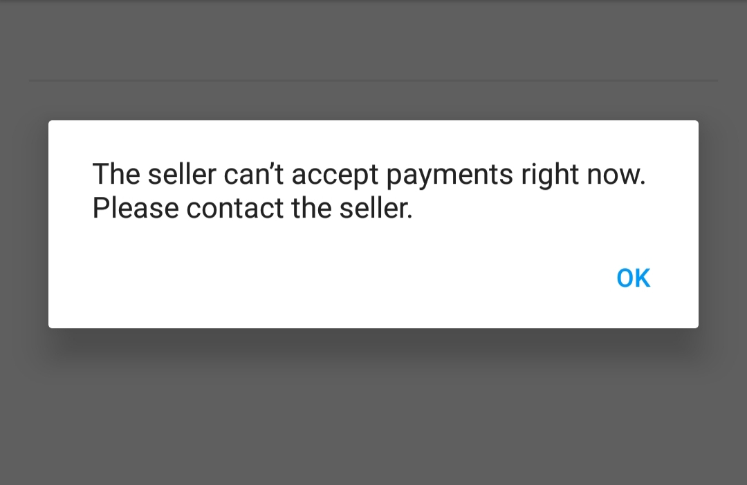 Solved The Seller Can T Accept Payments Right Now The Ebay Community