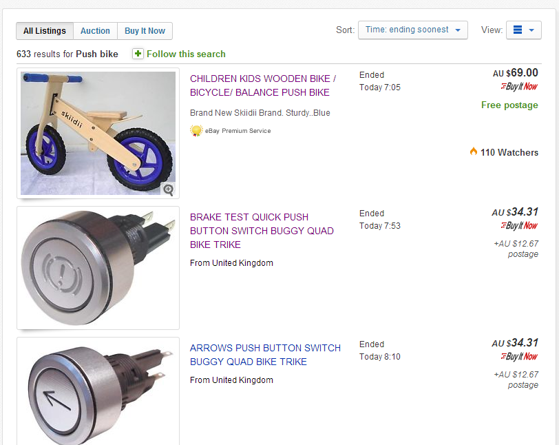 Solved Ebay Search Results Show Ended Items That Have No The Ebay Community