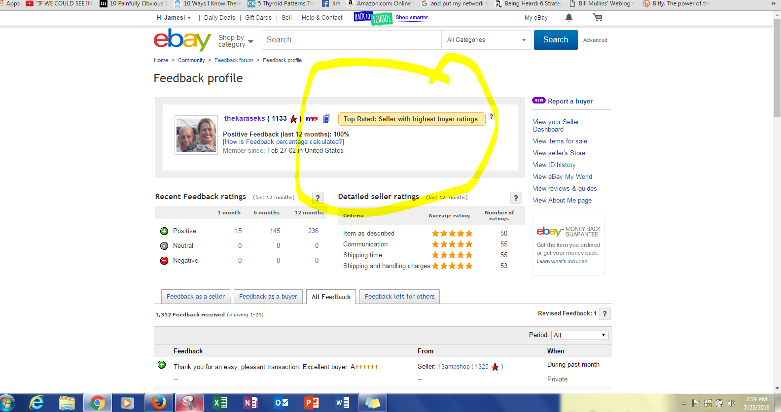 Why Is Top Rated Seller Designation Not Showing On The Ebay Community