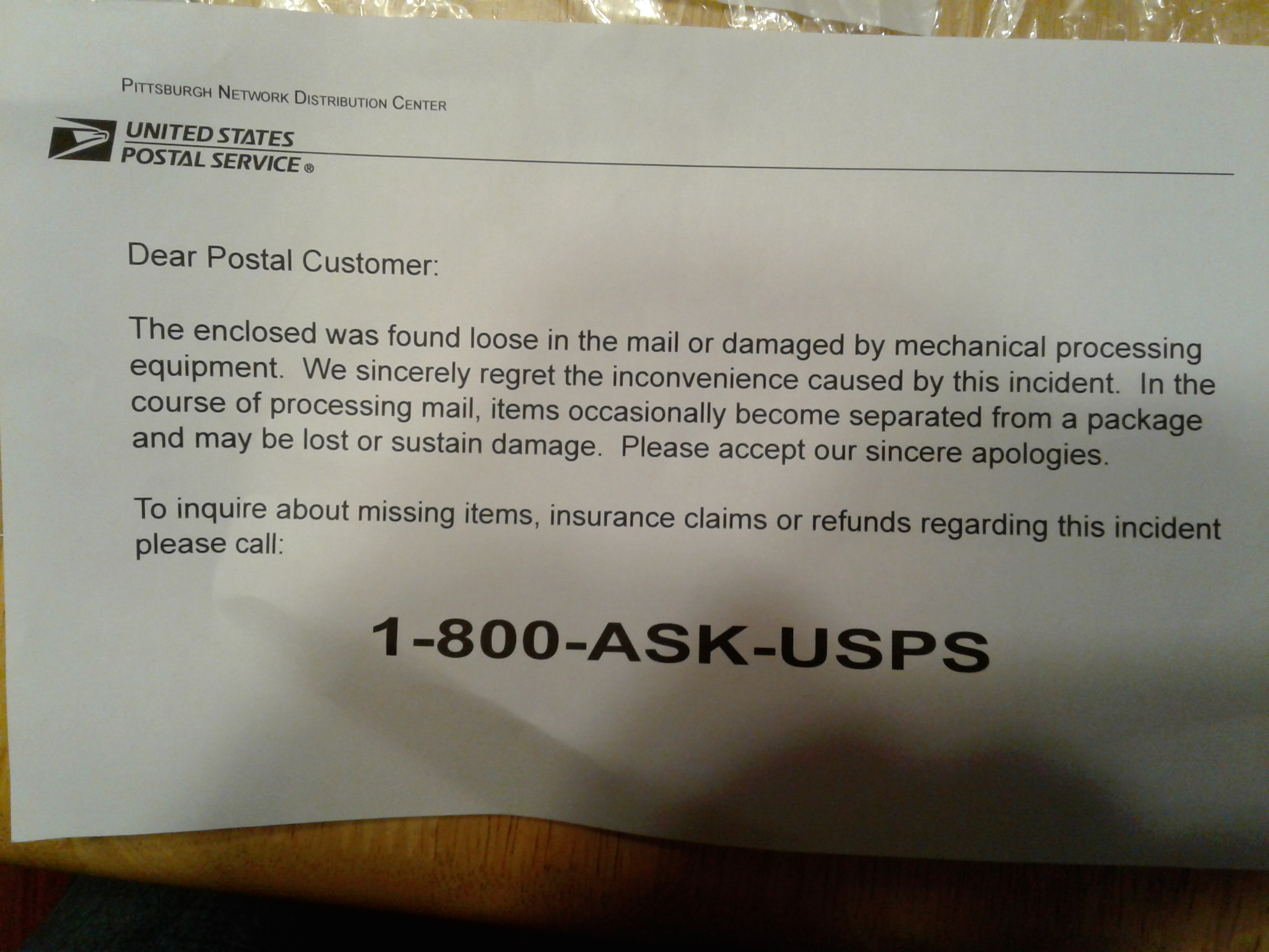 Package Allegedly Damaged by USPS? - The eBay Community