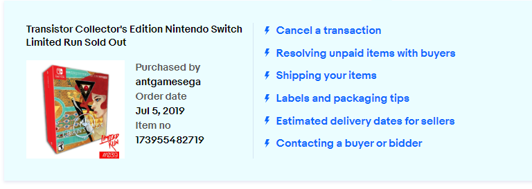 A Preorder Item I Sold And Was Paid For In June The Ebay Community