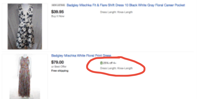 Promotions not showing search results  - The eBay Community