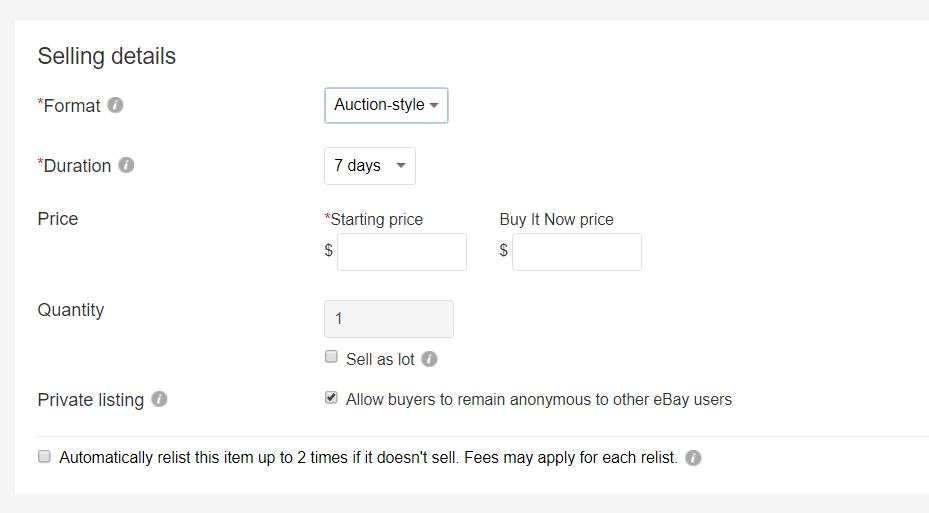 Best Offer Showing Up On Auctions The Ebay Community
