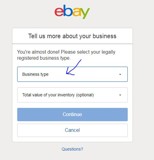 What Is Legally Registered Business Type For Llc The Ebay Community