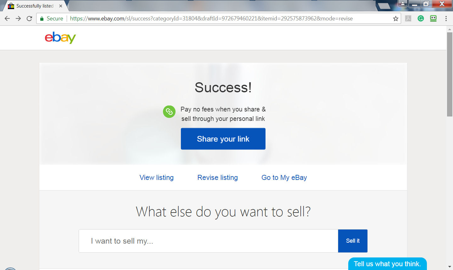 How To Share Listing Link To Fb Marketplace The Ebay Community