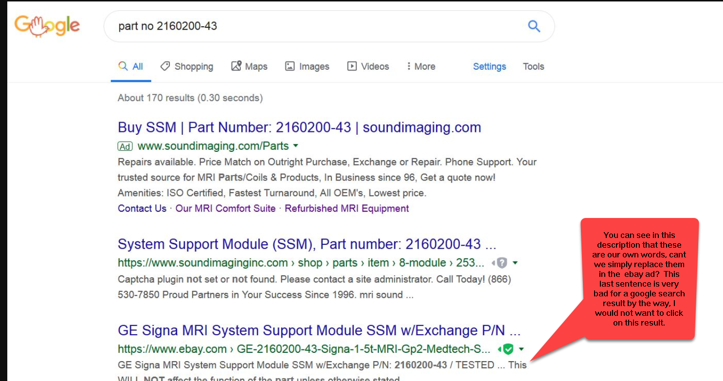 Ebay Search Results In Google How To Change The The Ebay Community