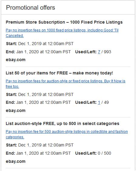 15 Cent Insertion Fee The Ebay Community