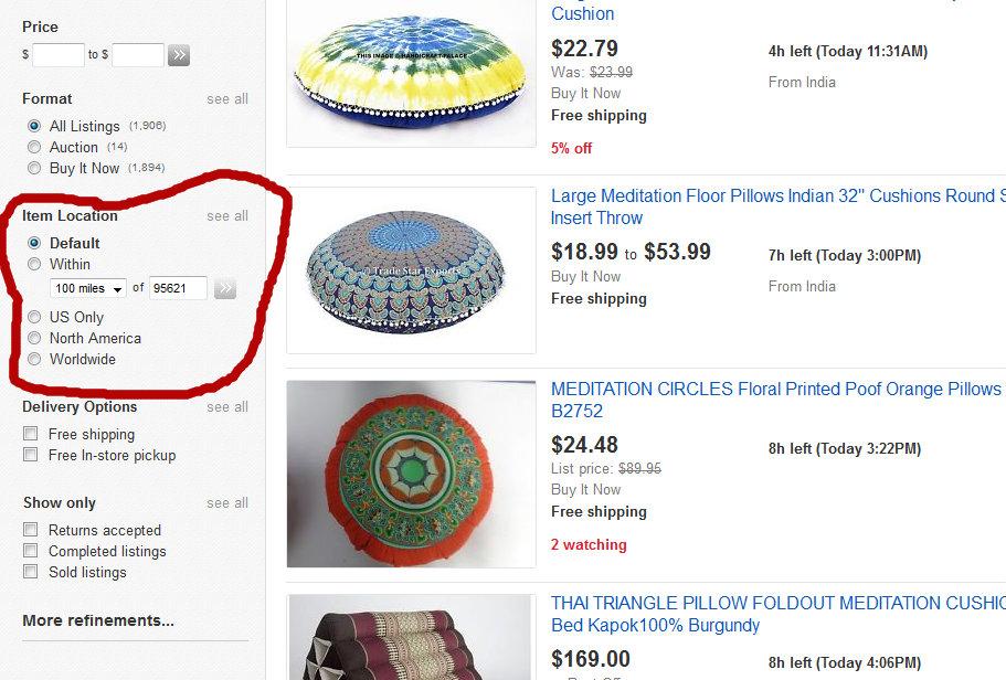 Item Location Default Setting The Ebay Community