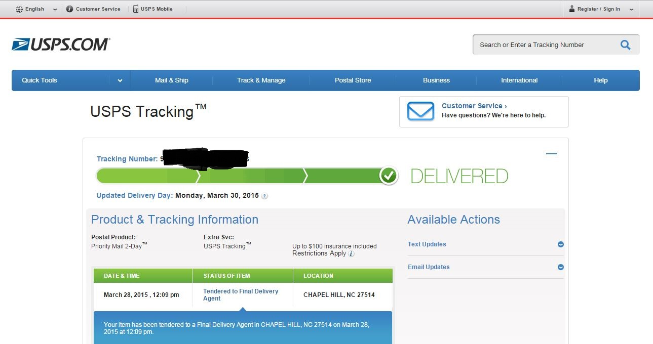 USPS tracking shows DELIVERED, but eBay does not? - The eBay Community