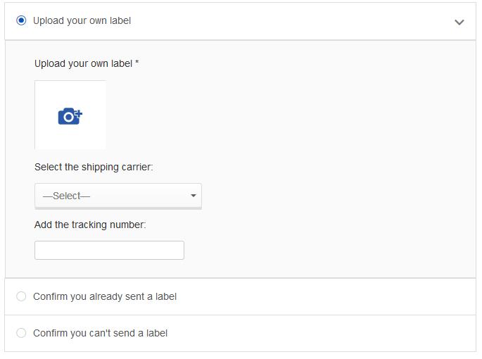 Create A Return Shipping Label The Ebay Community