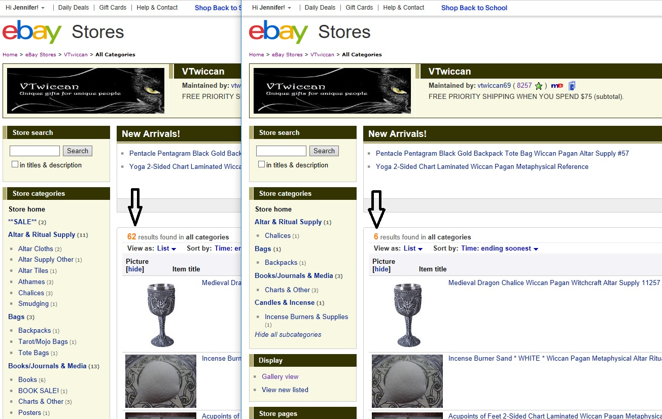 Solved: ITEMS NOT SHOWING UP IN STORE! - The eBay Community