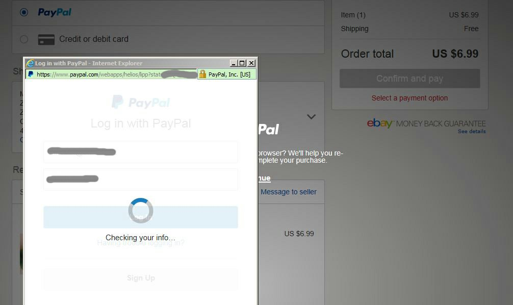 Ebay Mastercard Login >> Checkout Issues With Paypal The Ebay Community