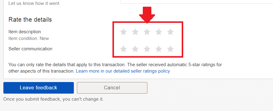 Feedback Stars Are Hard To See The Ebay Community