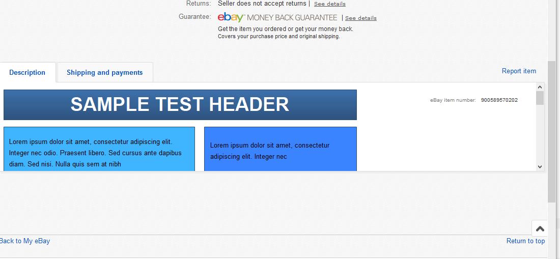 solved incorporate css into html listing part 3 the ebay community rh community ebay com