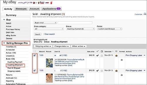 How to raise invoice on ebay
