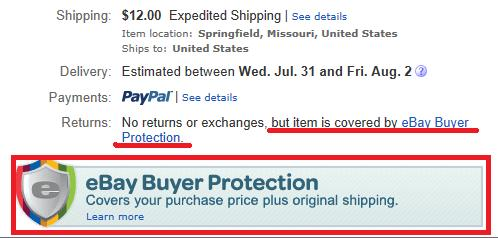 Seller Beware No Returns Accepted Means Returns A The Ebay Community