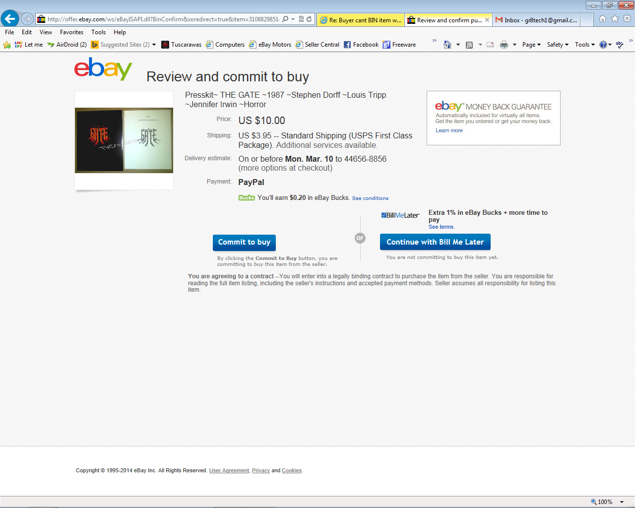 Buyer Cant Bin Item W O Being Made To Pay The Ebay Community