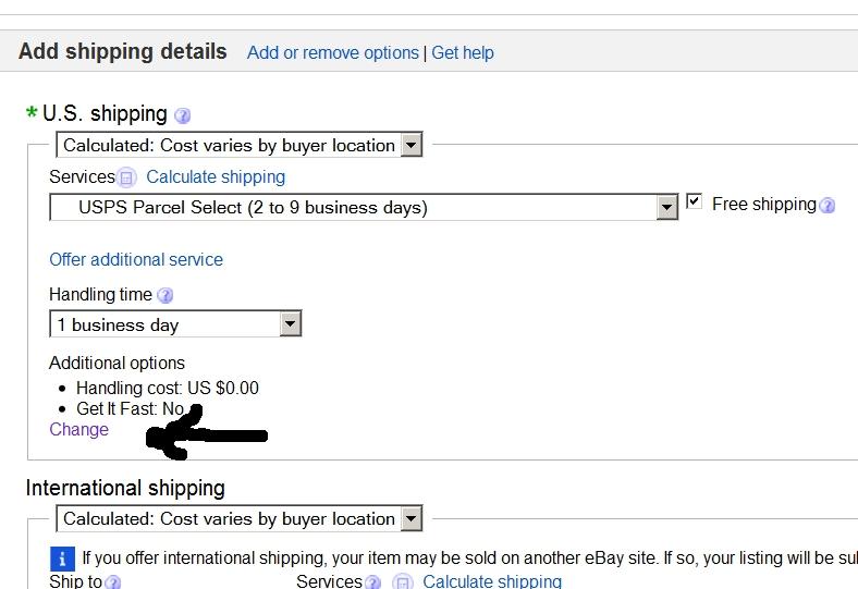 Solved: Where did Handling Fees go? - The eBay Community