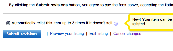 How Do I Stop An Unsold Item From Automatically Re The Ebay Community