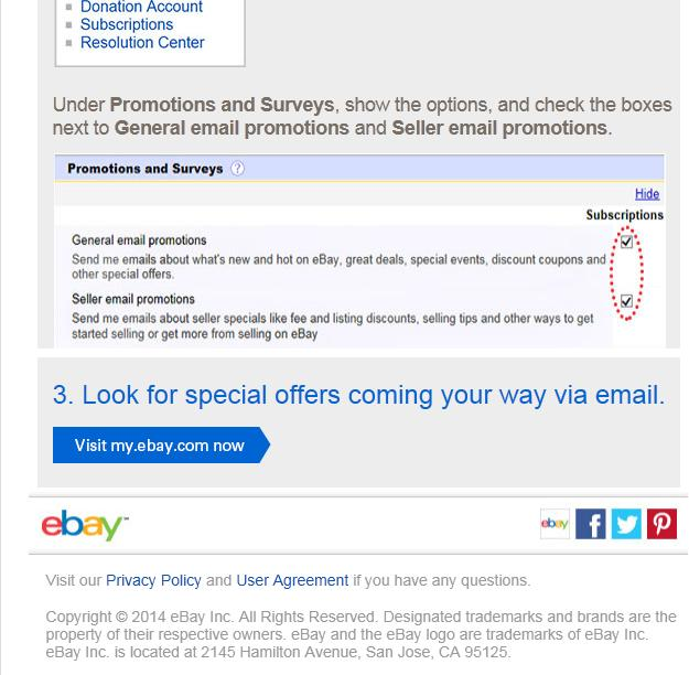 Solved Any Info About Current 10 Off Coupon The Ebay Community