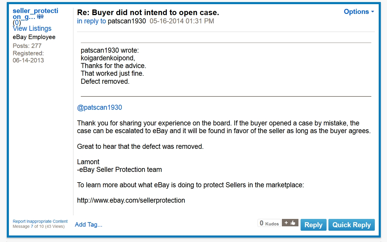 Re Contact Seller Open A Dispute Needs To G Page 7 The Ebay Community