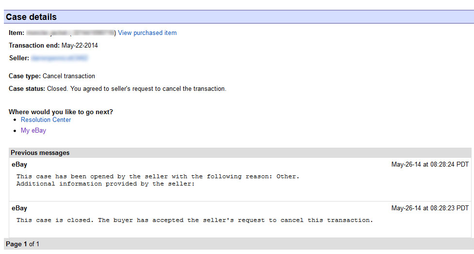 Solved Another Seller Backing Out Of Sale The Ebay Community