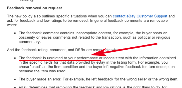 Negative Feedback Left For Something Out Of My Con The Ebay Community