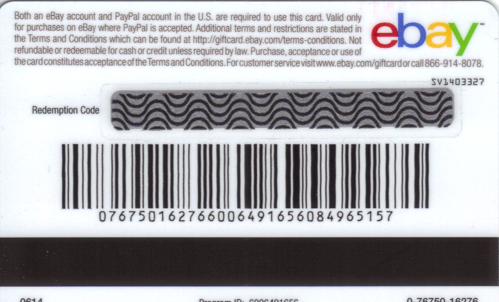 Valid Ebay Gift Cards Are Not Being Recognized G The Ebay Community