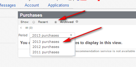 Purchase History Disappears After 60 Days Feedbac The Ebay Community