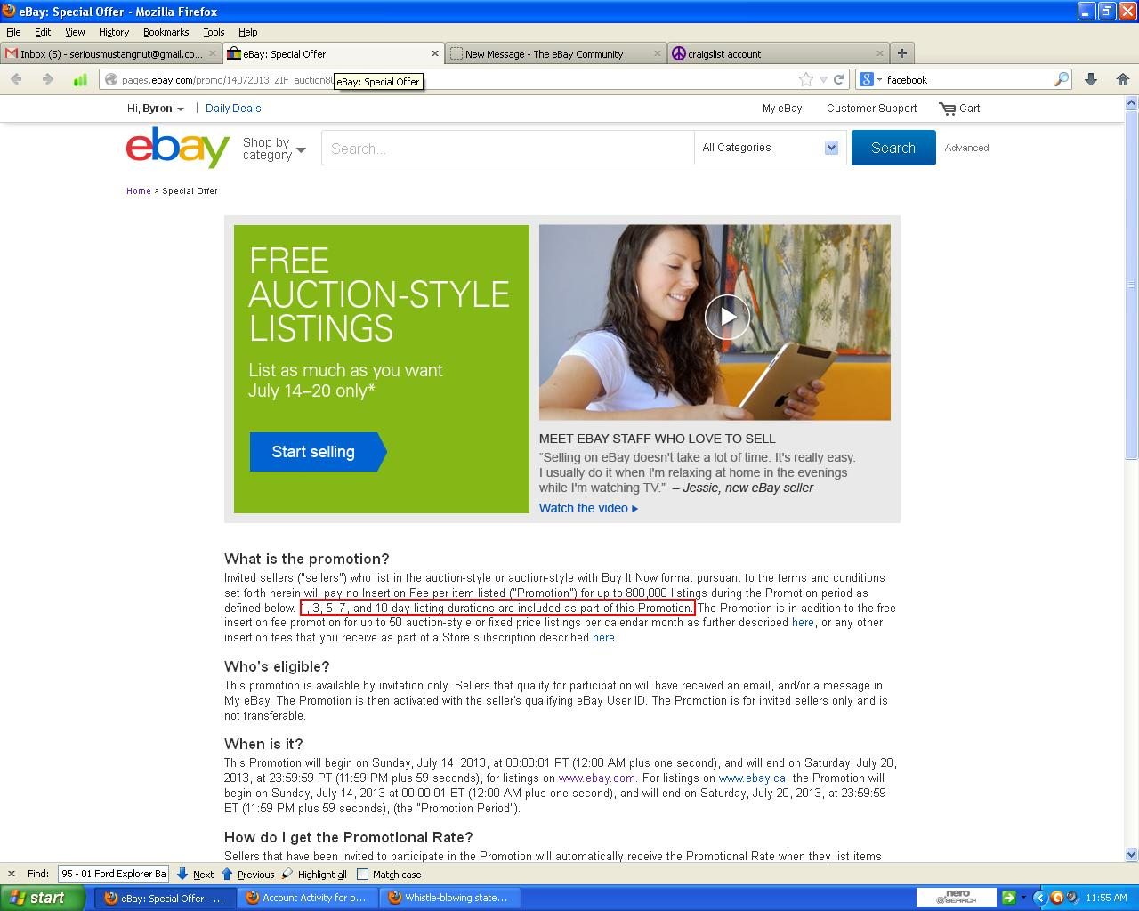 Free Promotion From July 14 20 Charging Fees The Ebay Community