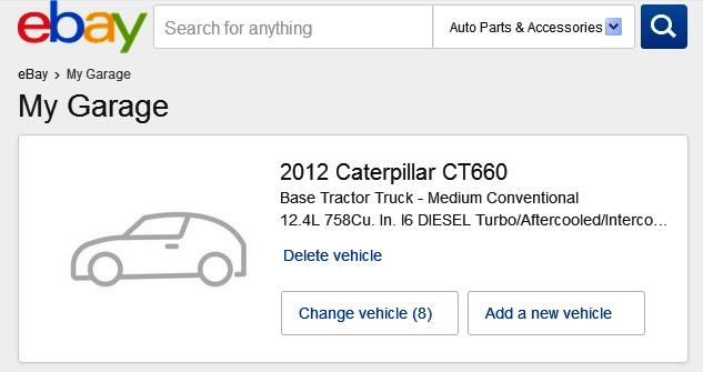 How Do I Delete A Saved Vehicle The Ebay Community