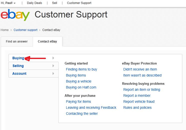 Is It Possible To Contact Ebay Support Via Email R The Ebay Community
