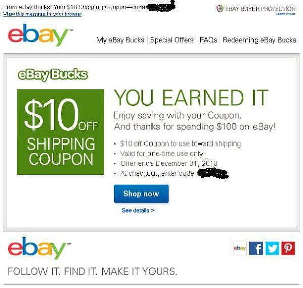 Now I Am Confused New Discount Coupon From Eba The Ebay Community