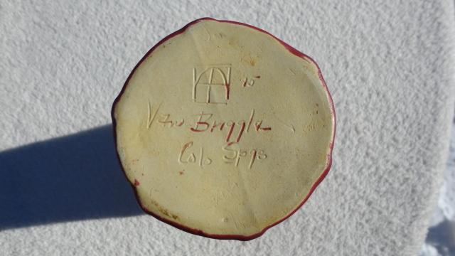 Pottery Van Briggle Vase Tia The Ebay Community