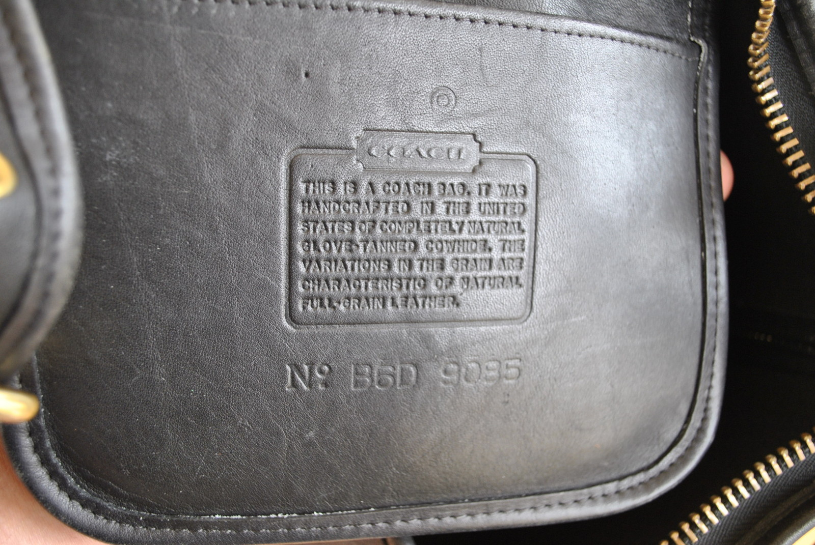 black and gray coach bag 7o03  Heres