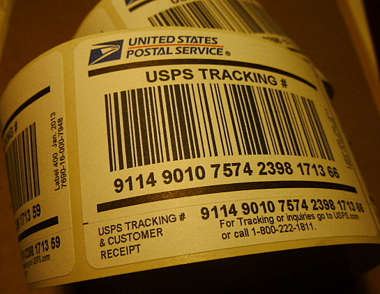 How to Add a Tracking Number Using a Metered Posta    - The eBay