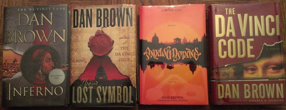 Dan Brown Collection The Ebay Community