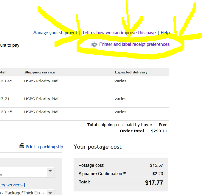 It is a photo of Critical Print Usps Delivery Confirmation Label