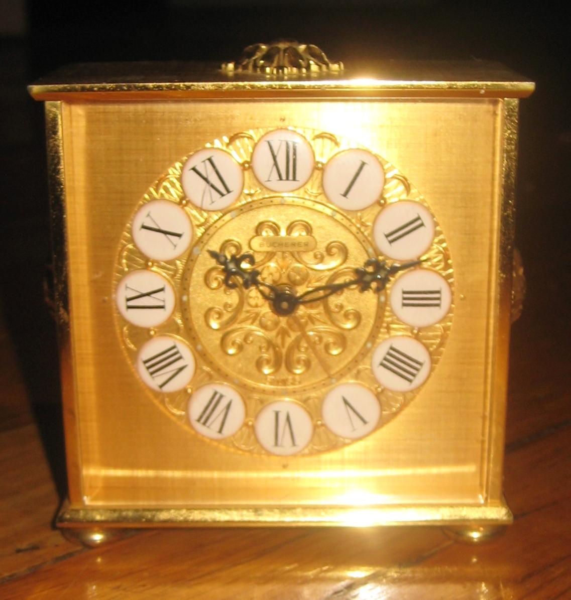 Bucherer 8 Day Mantel Clock Age Id Help