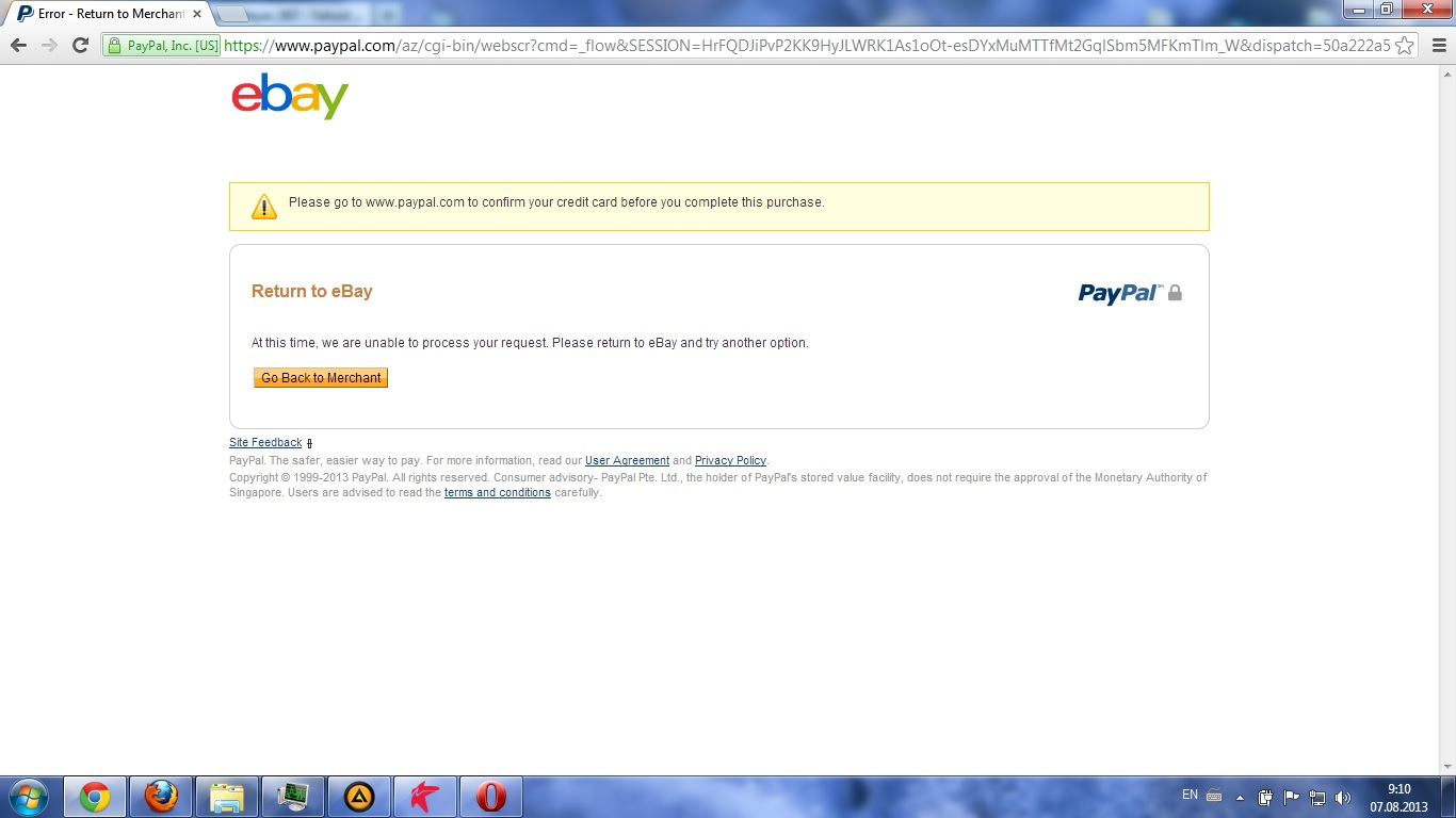 i have verified my paypal account but ebay says p the ebay community. Black Bedroom Furniture Sets. Home Design Ideas